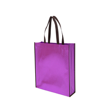 Promotions environmentally friendly hand-held microwave non-woven shopping bag