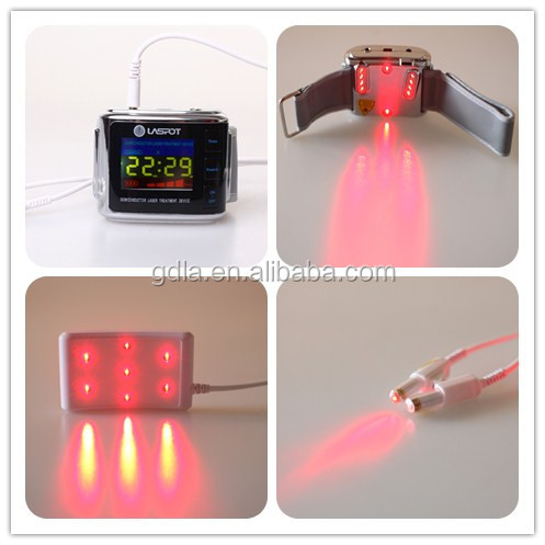 Elder Care Laser Therapy Watch Potential Therapeutic Equipment High Blood Pressure Treatment
