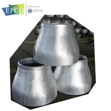 butt welded seamless aluminum pipe fittings eccentric reducer