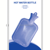 BS standard hot water bottle--rubber bag