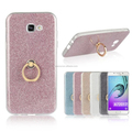 New Glitter Soft TPU Cover Case with Ring for Samsung Galaxy A3 A5 A7 2017