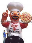 promotion price inflatable chef cartoon model for sale