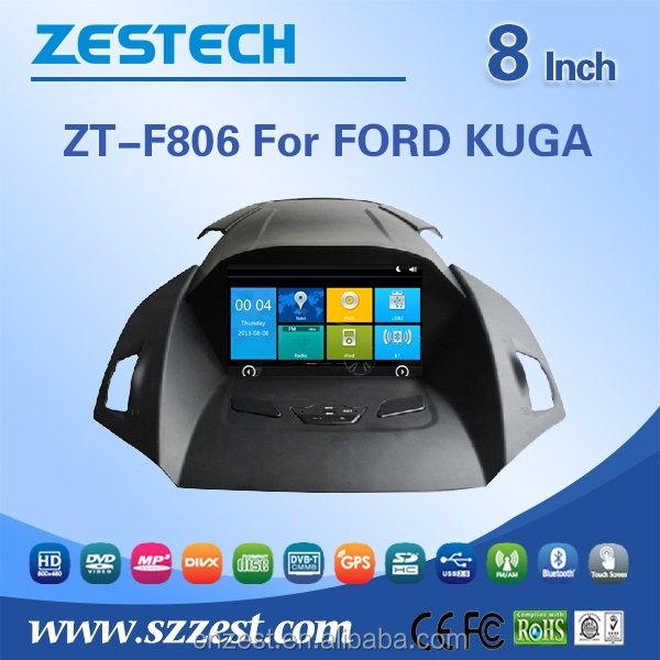 in dash car dvd player for Ford KUGA Car DVD Gps Navigation with CE EMC LVD FCC