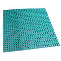 QU Prevent slippery drainage rubber mat/rubber mat/porous lawn grass garden laid mat