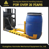 oil drum lifter widely use with forklift drum lifter clamp 400kg capacity vertical drum lifter