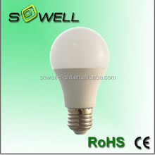 5W-11W E27 2835SMD Plastic+Aluminum CE / RoHS A60 LED lighting bulbs