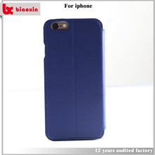 Factory price detachable wallet leather case for iphone 5