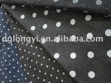 2012 new fashion design printed denim fabric