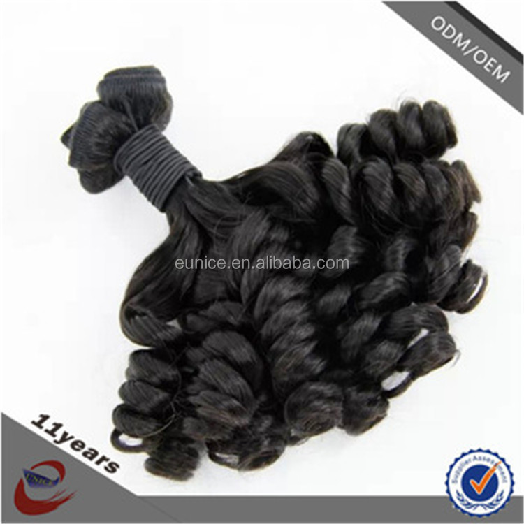 Virgin remy 100% Brazilian double drawn fumi hair extension machine weft