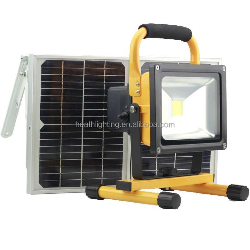 20W solar camping lamp with switch dimming high-middle-low-brightness CE ROHS approved
