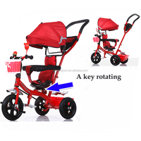 2017 new model Humanized design triciclo kids baby tricycle / best price tricycle baby / 360 degree rotation three wheel