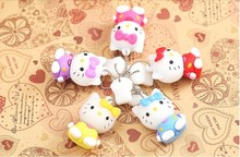 100% realcapacity Wholesale Cartoon Hello Kitty Usb Flash pen Drive disk Memory Sticks 8GB 16GB 32GB Pendrive Free Shipping