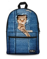 2016Canvas Fabric Pet Carrier Bag, Cat Cages Bag Carrier,Pet Backpack