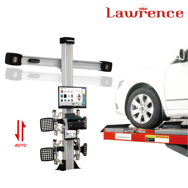 Guangzhou Lawrence automobile workshop computer 3d wheel alignment machine price