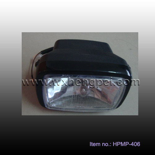 QM200 headlight , QM200 head lamp , motorcycle head light