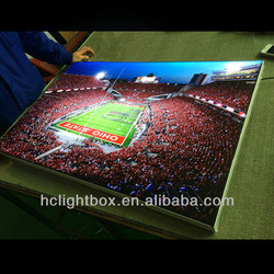 led frame advertising aluminum led ligihting profile led light poster