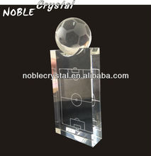 2014 World Cup Brazil Noble Custom Made Crystal Football Stadium Trophy Award