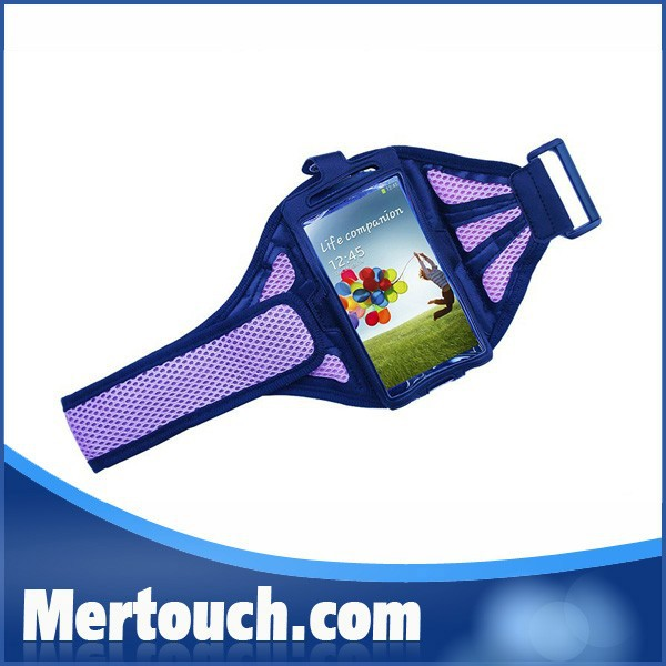 mesh wrist bag mobile phone pouch waterproof armband case for Samsung Galaxy S3