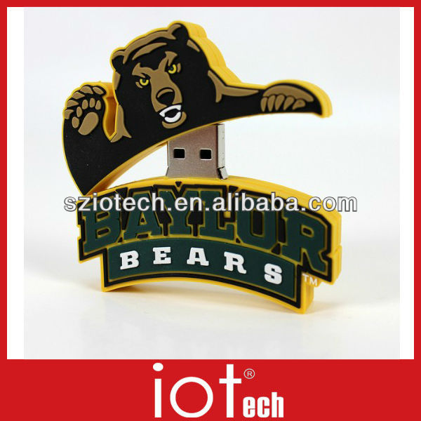 Factory Provide PVC Promotional USB Key Drive