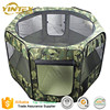 Cheap foldable Dog Pet Puppy Kennel Exercise Pen Playpen Soft Crate Cat Feeder Fence Cage tent