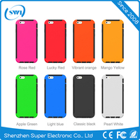 Factory Price Mobile Phone Case for iPhone 6, 3 in 1 Defender Soft Silicone Protective Case for iPhone 6s