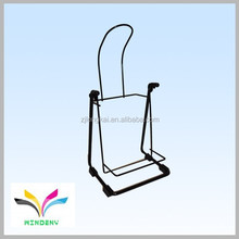 Fixable rear vertical portable small size bike racks