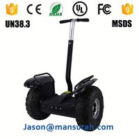 Hot Sale 2000W Two Wheels off-Road Chariot Electric Scooter with Handle Bar