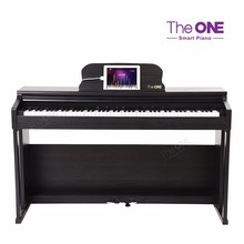 The ONE Black Solid wood used piano 88 keys upright piano