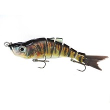 In stock swimmer bait ABS plastic 2x 4x 6x strong treble hooks for Australian