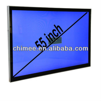 55 inch led computer vesa mount touch screen kiosk with pc
