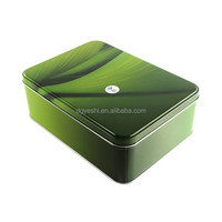 Cookie Tin Box Sweety Rectangular Tin