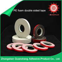 Chinese Products Double Faced Pe Foam Sealing Tape / Acrylic Foam Tape