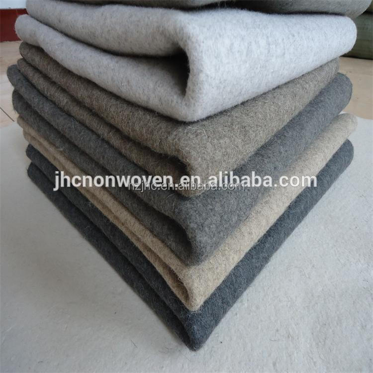 China Factory 3mm natural wool felt