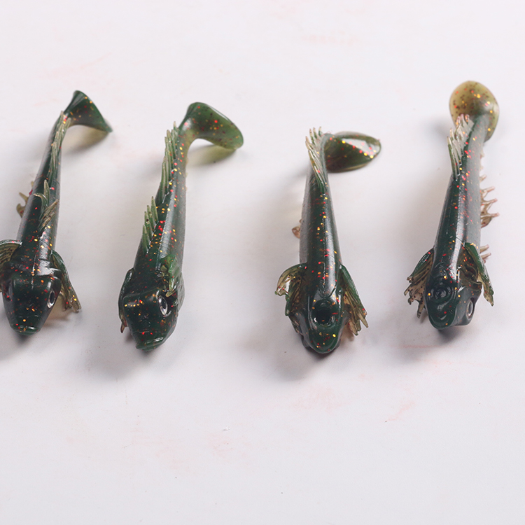 Selling Artificial Bait Wholesale Soft Plastic Fishing Lures