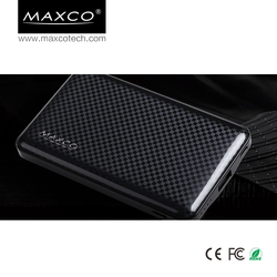MAXCO external portable mobile phone power bank charger, wholesale powerbank 10000 mah
