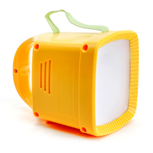 Newest hot selling solar lantern with FM Radio solar Mobile phone Charger system for Emergency Light