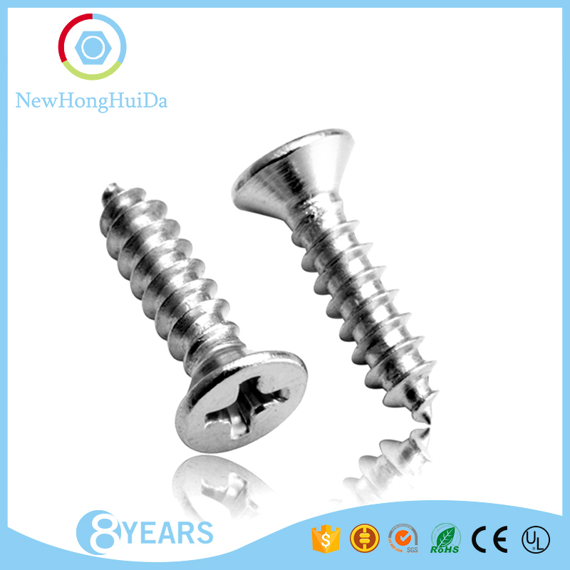 China alibaba factory supply din 7982 tapping screws