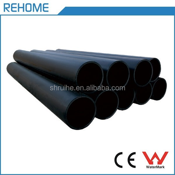 ISO4427 AS/NZS4130 50mm hdpe pipe standard length