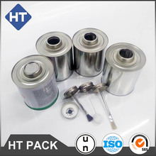 125ml/250ml/500ml/1000ml screw top tin can with dauber for Automotive additives, brake fluids, paint thinners, colorants