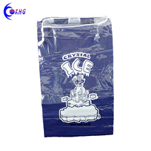 High quality food grade clear poly ice cube plastic bag