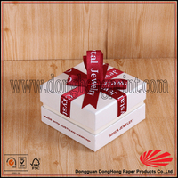 custom gift thick paper watch packing boxes design