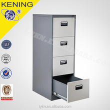 tall 4 drawer metal file cabinet with ISO9001 and ISO14001