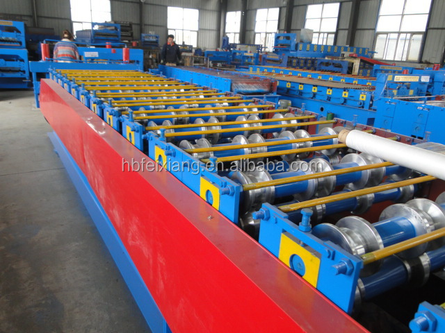 hebei machine manufacturer double layer roll forming machine equipment from china for the small business