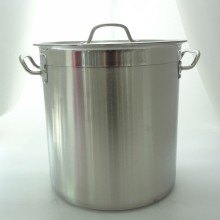 30 Liter Metal Stock Pots / tall polishing large stainless steel pots