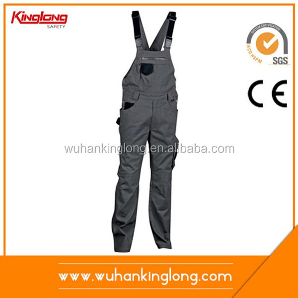 TC working bib pant overall/ new fashion design men bib overalls for working