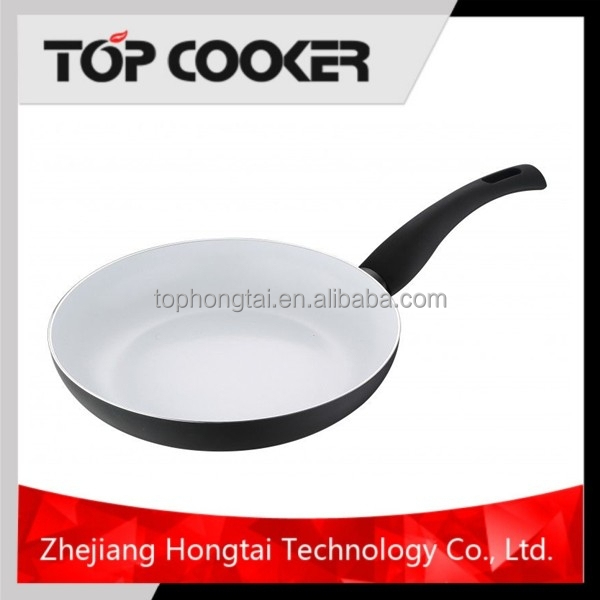 Aluminum Diamond Ceramic Coating Deep Frying Pan
