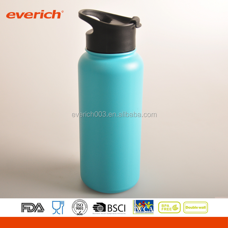 Everich 550ml hydro flask subzero vacuum stainless steel water bottle tea cup thermos sport pot with cap