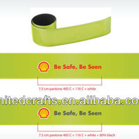 Imprint Reflective Slap Band