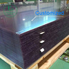 China plastic products custom size cheap price plate board plastic polycarbonate sheet