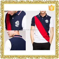 Trade assurance supplier print CVC polo shirt faisalabad